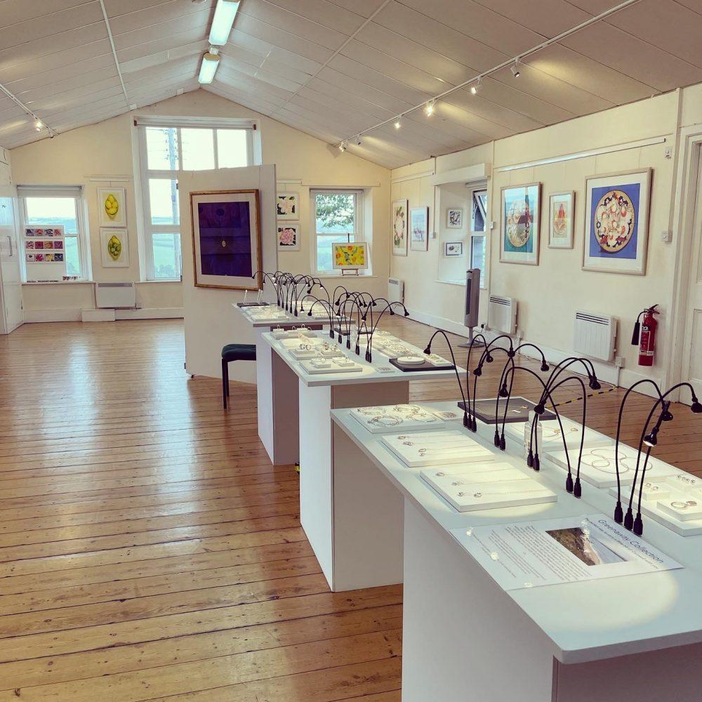 Chloe Michell and Danka Napiorkowska's Summer Exhibition at the Rock Institute, Rock Cornwall