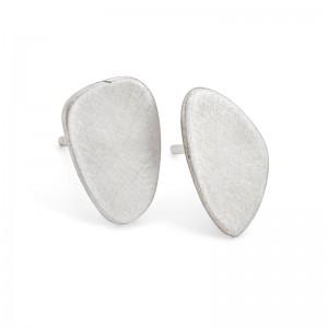 silver pebble studs £25